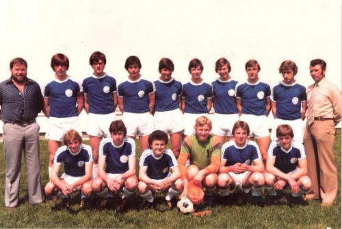 Jugend-Vizemeister Gruppe Donau-Süd 1977/1978