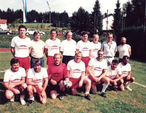 1989 (fast) komplette Gründungs-Mannschaft