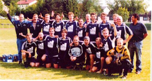 Aufstieg in die A-Klasse 2004