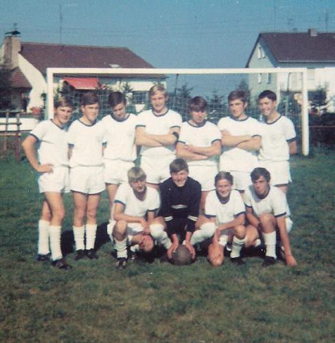 Jugend-Mannschaft 1969