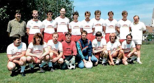 Meistermannschaft Reserve 1989